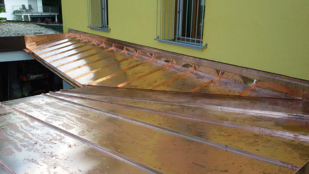 Dachdeckerei Kupferblechdach 1